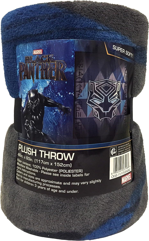 Marvel Black Panther Throw Blanket 40x60