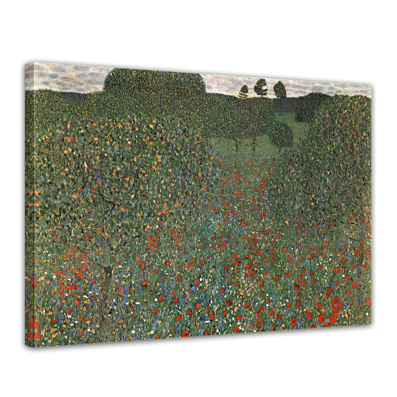 Wandbild Gustav Klimt - Lebensbaum 60x80cm - Wandbild Alte Meister Bild auf Leinwand Gemälde B071YZQVWY Leinwanddrucke