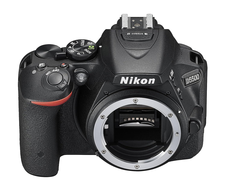 Nikon D5500 - Cámara réflex Digital (24.2 MP, Pantalla LCD, WiFi ...