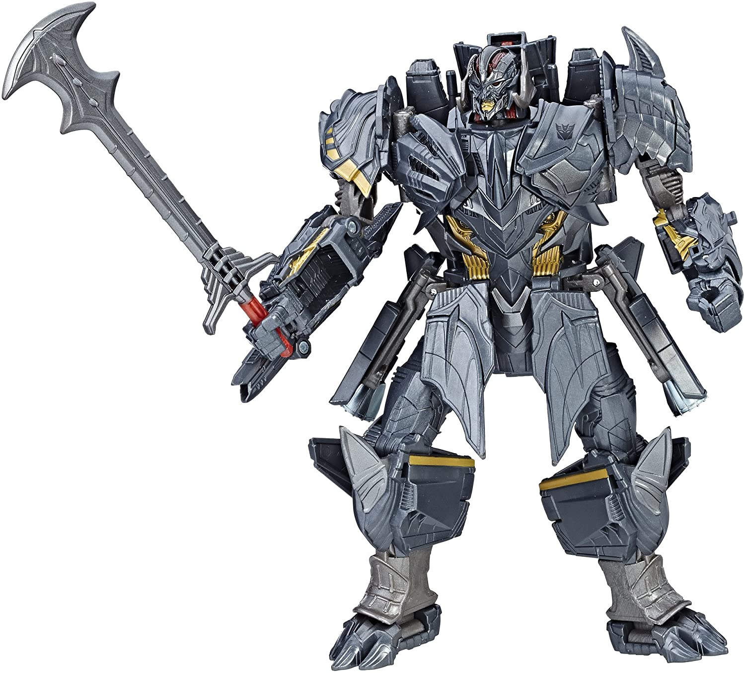 23CM Transformers 5 The Last Knight Megatron PVC Action Figures Robots Toys Gift