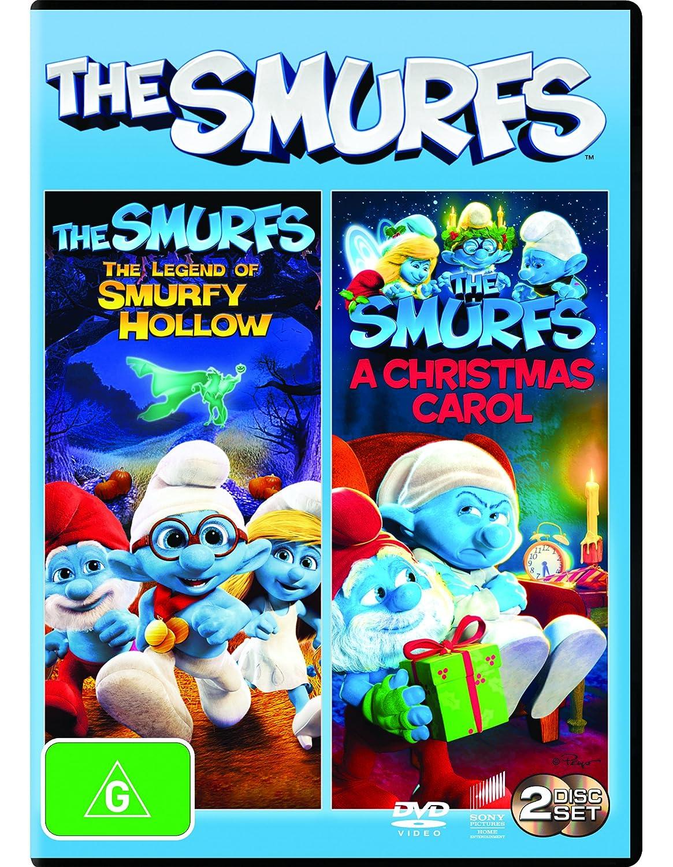 Smurfs Christmas.Amazon Com The Smurfs Legend Of Smurfy Hollow The Smurfs