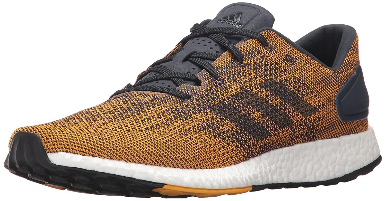 adidas Men's Pureboost DPR Running Shoe B01N2WHFLN 7 D(M) US|Noble Ink/White/Tactile Yellow