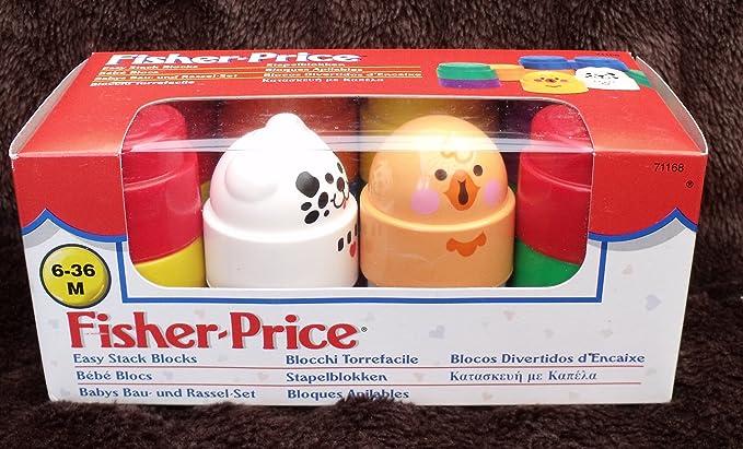Fisher Price Easy Stack Blocks Amazon Co Uk Toys Games