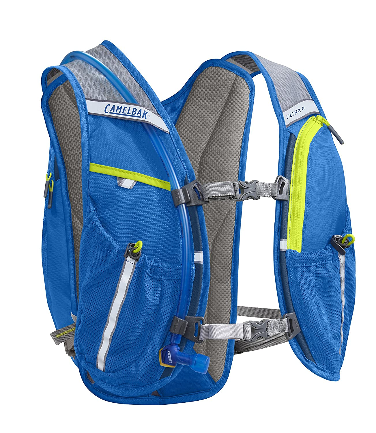 9d9af75120 Camelbak Ultra 4 Vest - Electric Blue/Poseidon, 70 oz: Amazon.co.uk: Sports  & Outdoors