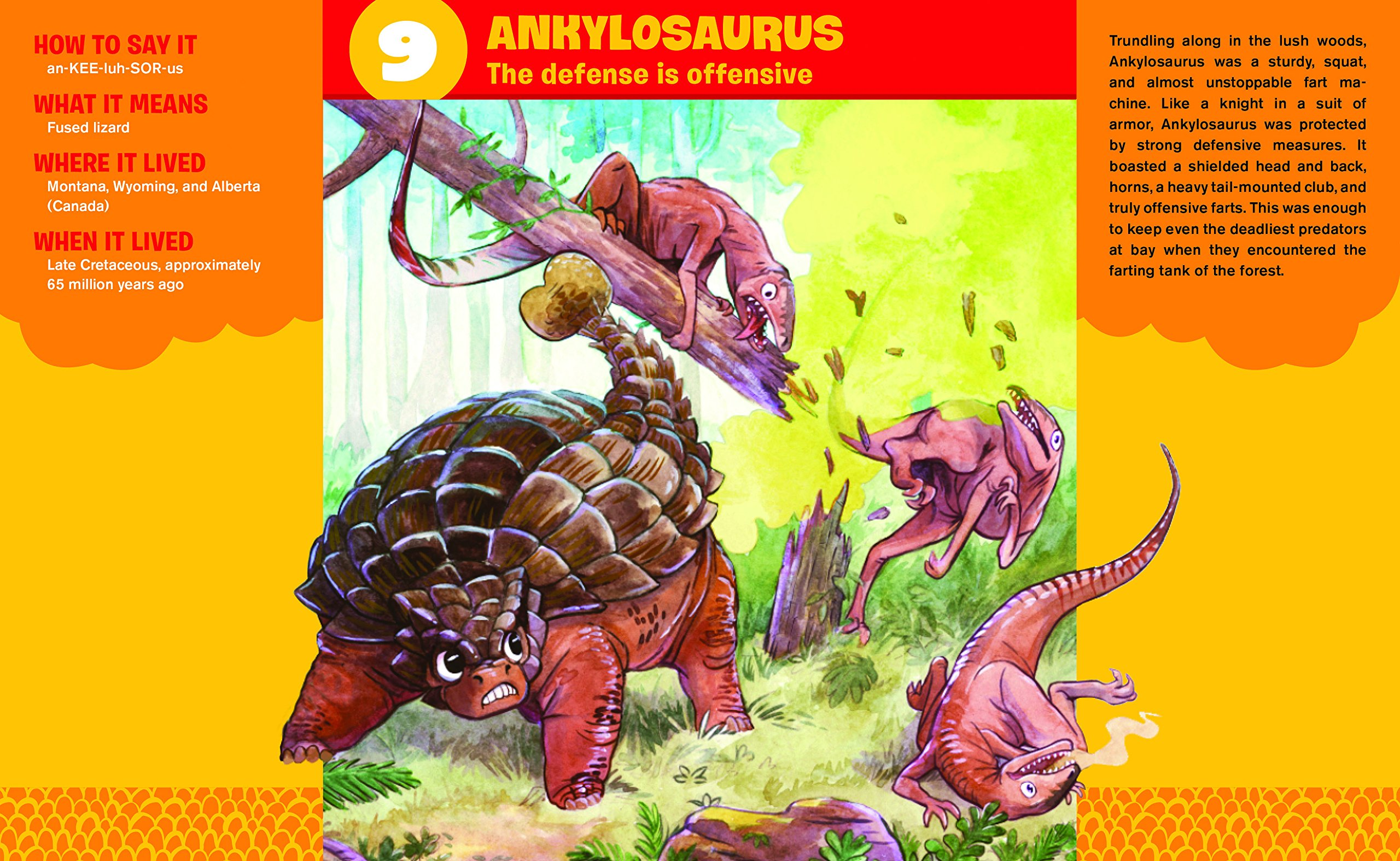 Jurassic Farts: A Spotter's Guide