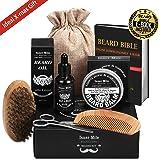 UPGRADED Beard Kit for Men Beard Growth...