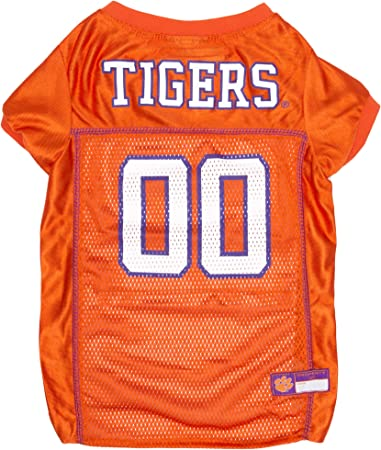 Pets First NCAA PET Apparels Football Jerseys for Dogs /& Cats Available in 50 Collegiate Teams /& 7 Sizes Basketball Jerseys