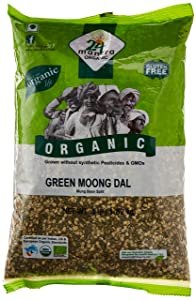 24 Mantara 24 Mantra Organic Green Moong Dal - 4 Lb,, ()