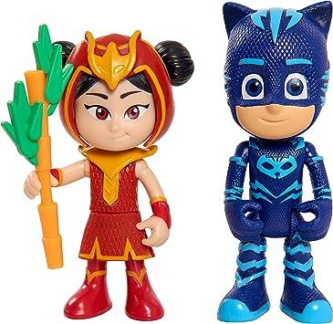 PJ Masks- Pack de 2 Figuras, Gatuno & Anyu (Bandai JP95307 ...