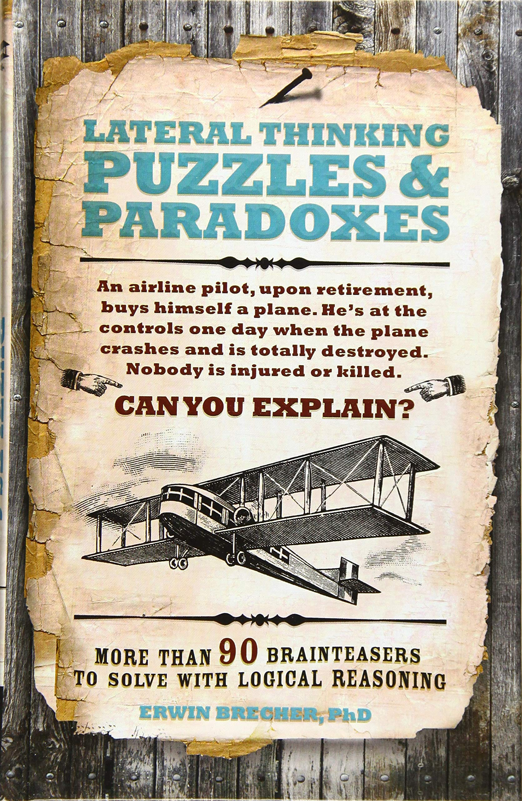Lateral Thinking Puzzles & Paradoxes: Erwin Brecher ...