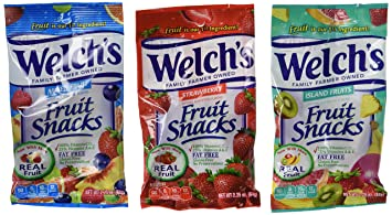 Welch's Fruit Snacks, 2 25 Ounce Pouches, 24 Count, Variety Pack