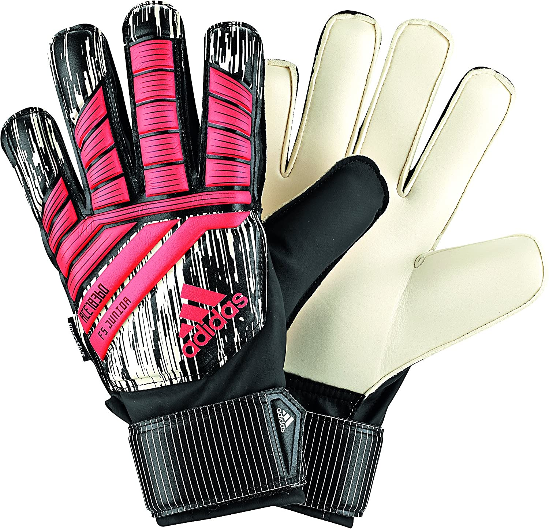Biys Adidas Predator Fingersave JuniorマヌエルノイアーKidsゴールキーパーグローブfor Soccer B076HMRNXS3