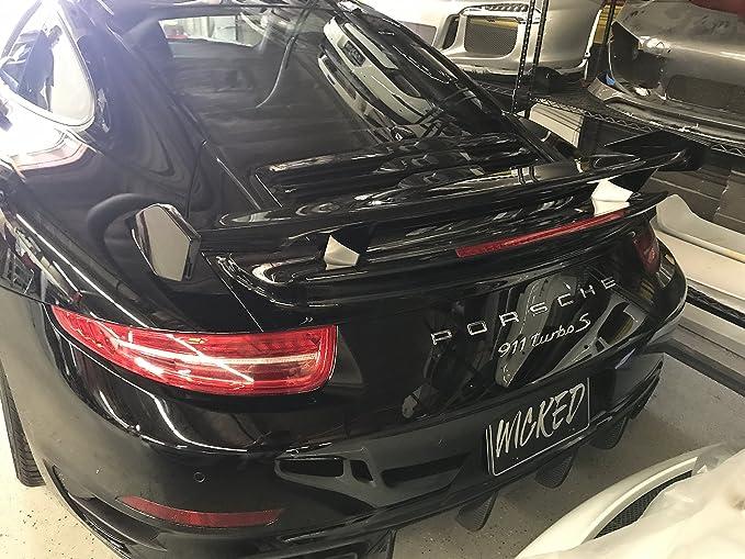 Amazon.com: Porsche 991 Turbo WMW Spear Head Bi-Wing for 991.1 and 991.2 Turbo: Automotive