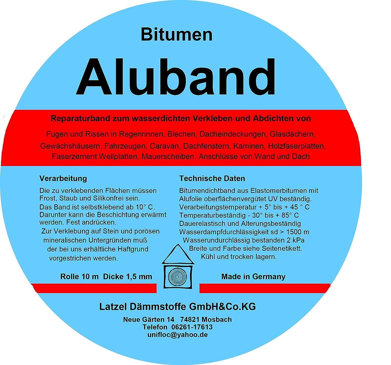 Bitumen Aluminium Tape Lead Colour 75 Mm Amazon Co Uk Diy Tools