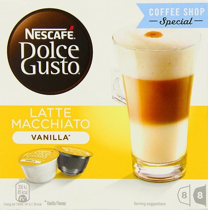 NESCAFÉ Dolce Gusto Café Ristretto, Pack de 3 x 16 Cápsulas - Total: 48