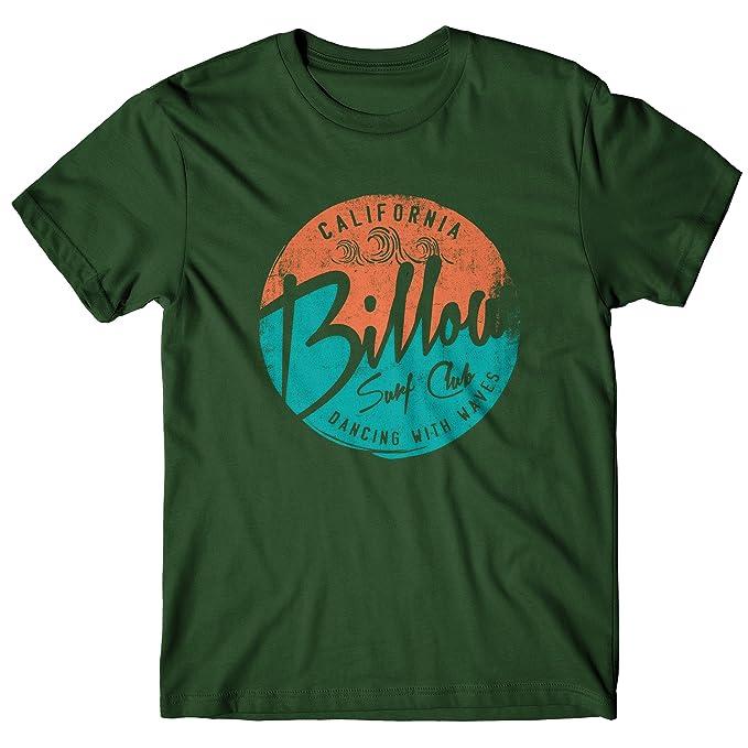 Camiseta Hombre Billow Surf Club - Camiseta 100% algodòn LaMAGLIERIA   Amazon.es  Ropa y accesorios f8cdcefa0a2