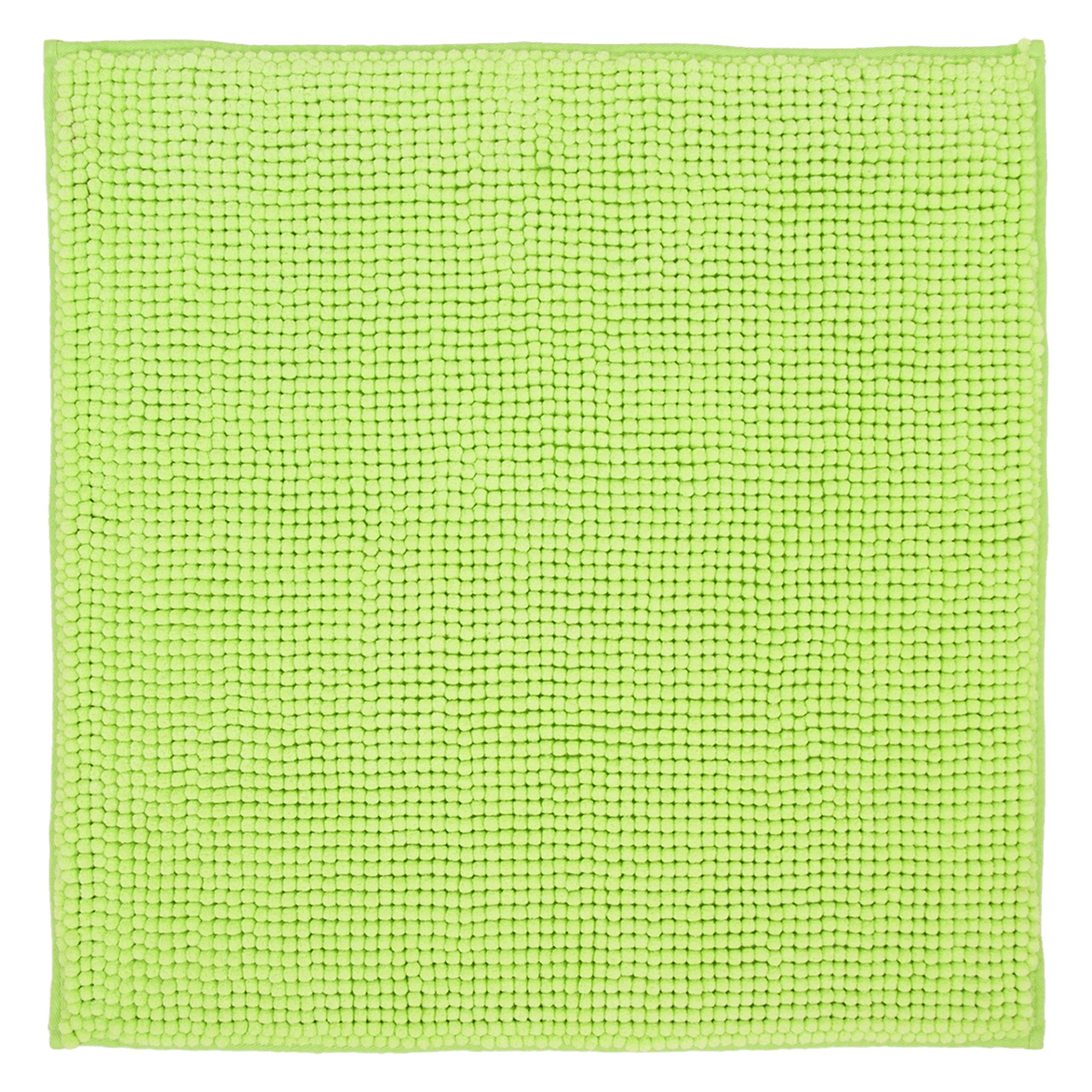 DIFFERNZ 31.102.89 Candore Bath Mat, Lime Green/Matching Colour by Differnz