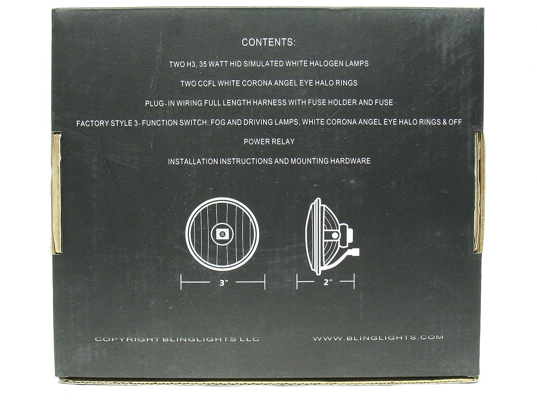Amazon.com: 2013 2014 2015 Chevrolet Malibu Non-Halo Fog Lamps Driving  Lights Kit: Automotive