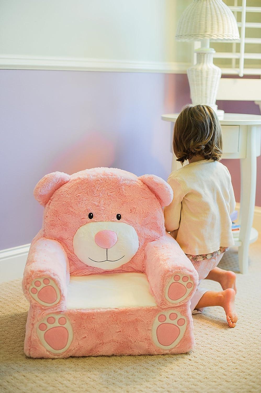 Animal Adventure Sweet SeatsOrange Fox Childrens ChairLarge SizeMachine Washable Cover 51358
