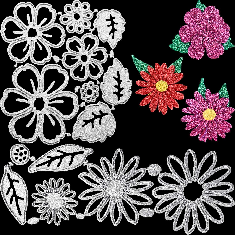 Garland Die Metal Cutting Dies Flower Scrapbooking Embossing Crafts Stencil