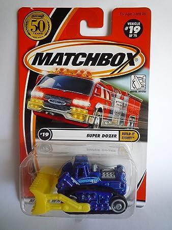 MATCHBOX 2001 Build It Right - #19 Super Dozer