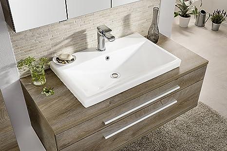 Mobili Fai Da Te Bagno : Fackelmann lavabo stanford ceramica bacino mobili da bagno