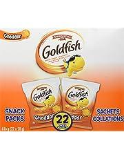 Pepperidge Farm Goldfish Cheddar Crackers, 28g, 22 Count