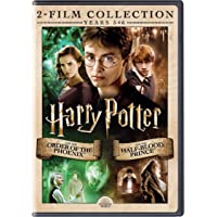 Harry Potter: The Complete 2 Movies Collection (Years 5 & 6) (2007, 2009) - HP and the Order of the Phoenix + HP and the Half-Blood Prince (2-Disc)