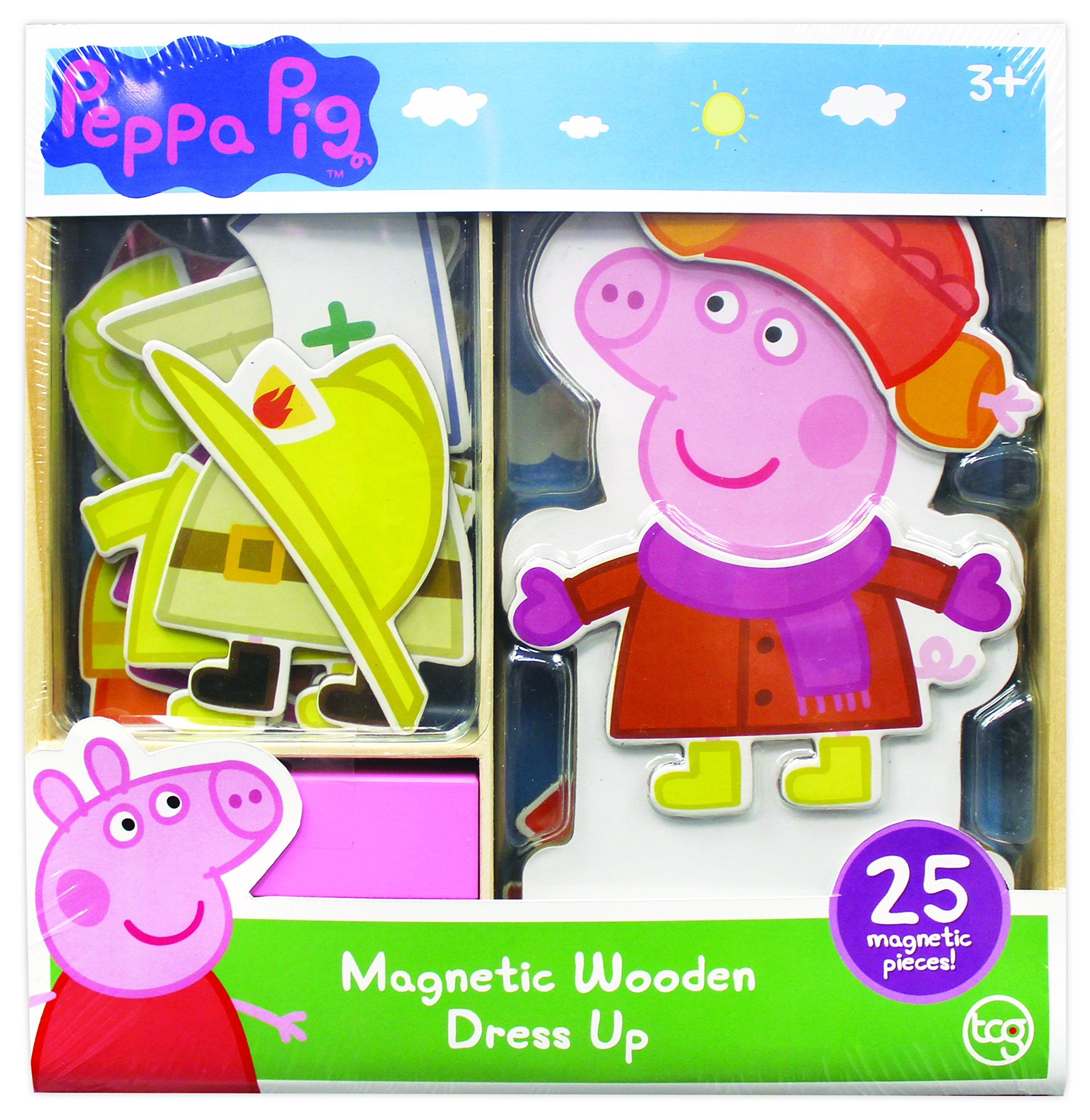 Peppa Pig Magnetic Wood Dress Up Puzzle (25 Piece) by Peppa Pig (Image #3)