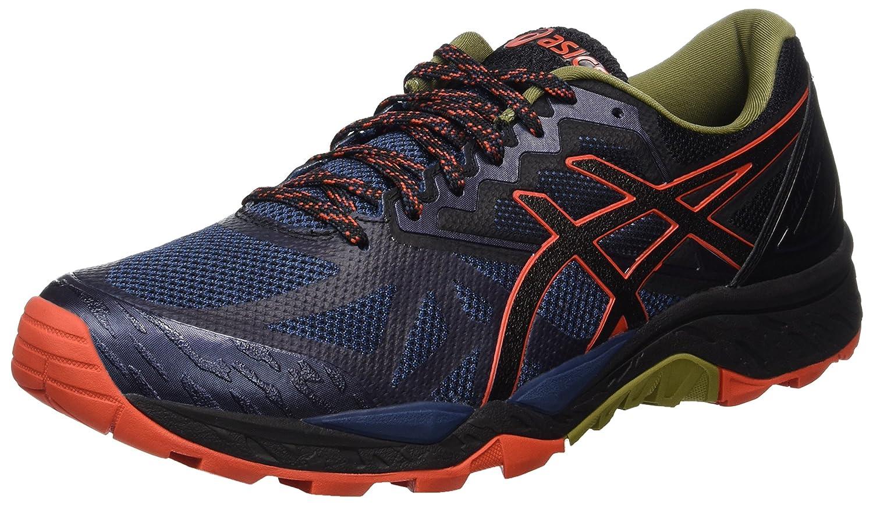 Asics Gel-Fujitrabuco 6, Zapatillas de Gimnasia Hombre, 40.5 EU|Azul (Insignia Blue / Black / Red Clay)