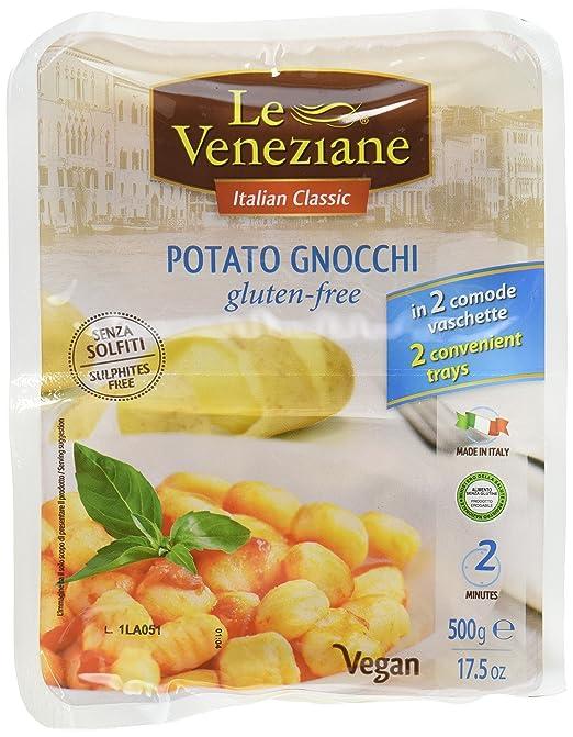 Le Veneziane sin gluten ñoquis (17.6oz (3 unidades): Amazon ...