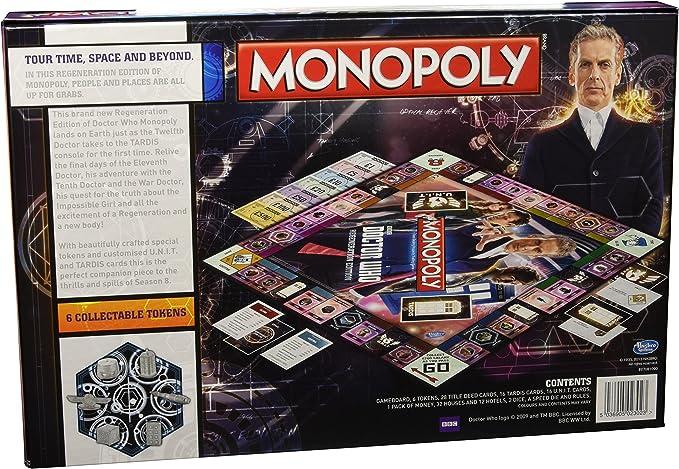 Hasbro 23023 - Juego Monopoly de miniatura