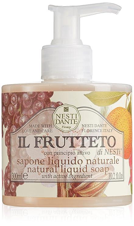 NESTI DANTE Il Frutteto, Natural Jabón Líquido 300 ml