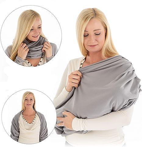 LaLoona Pañuelo lactancia materna - Manta para amamantar ...