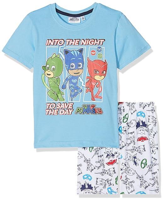 PJ Masks Chicos Pijama mangas cortas - Azul - 98