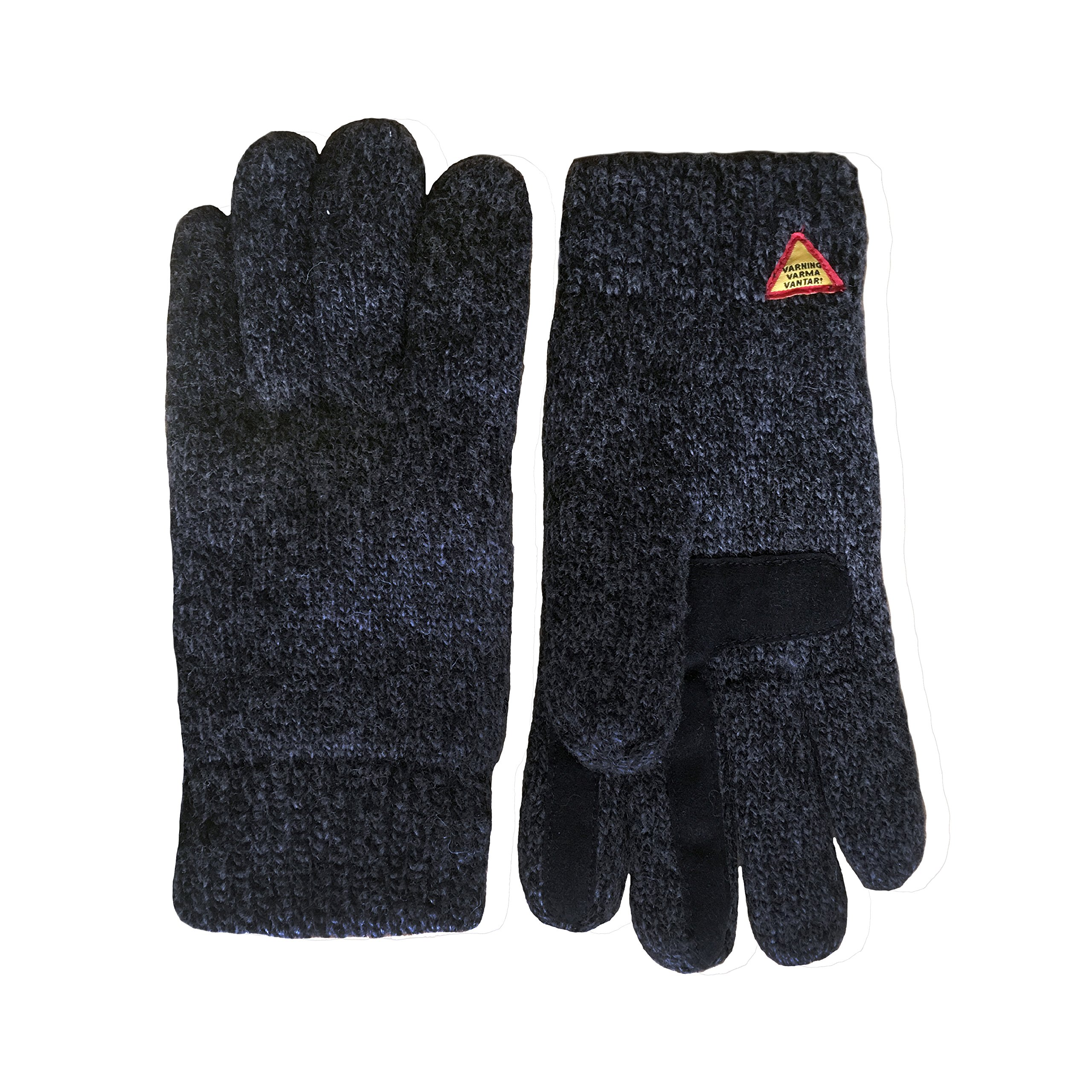 Swedish Dangerously Warm Suede Touch Gloves (Karg Rörö, Small) by Öjbro Vantfabrik