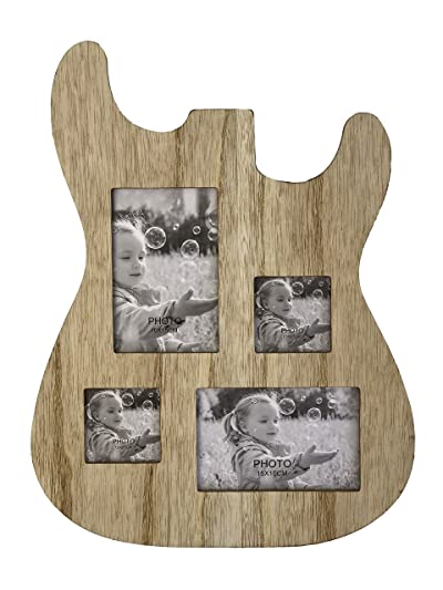 Rise8 Studios Guitar Body Shaped Music Picture Frame