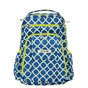 Ju-Ju-Be Classic Collection Be Right Back Backpack Diaper Bag, Royal Envy