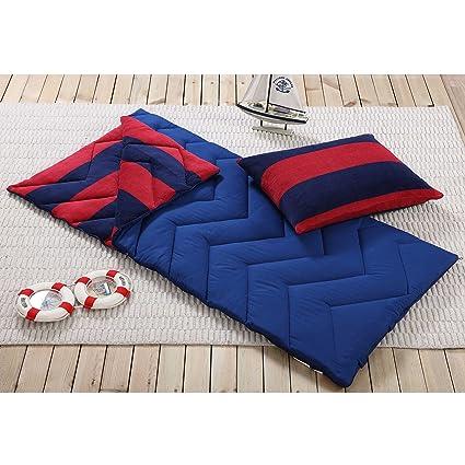 Saco de dormir y funda de almohada, interior al aire libre Camping juventud niños niñas