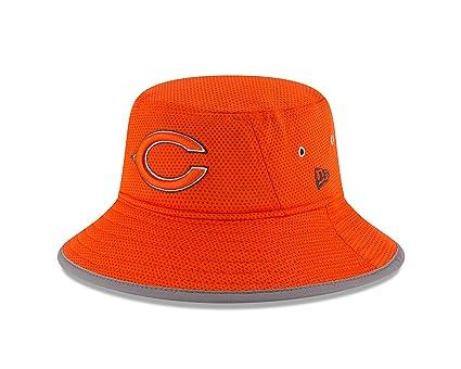 New Era NFL Chicago Bears 2016 Training Camp Reverse Team Color Bucket b8c57db93