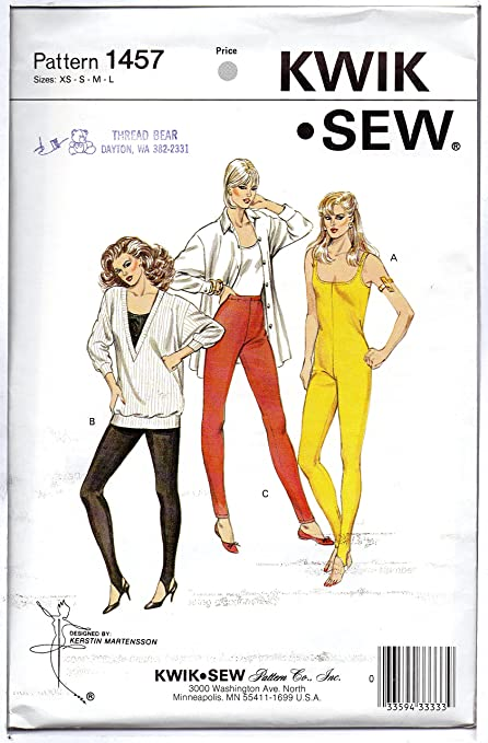 Kwik Sew Sewing Pattern K3887 Unitard