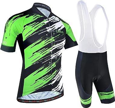 BXIO Traje Ciclismo Hombre, Ciclismo Maillot y Culotte Pantalones ...
