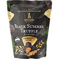 Aroma Truffle Parmesan Cheese Flavour Black Summer Truffle Potato Chips, Parmesan Cheese, 100 g