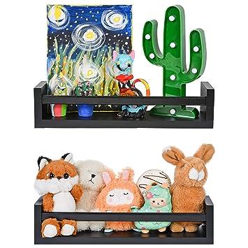 2x Cute Cloud Wall-Mount Floating Shelf Holder Storage Organizer Baby Room Decor
