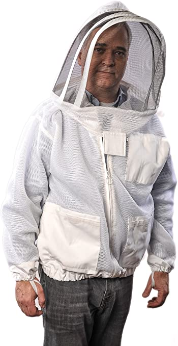 XS Size Beekeepers White Fencing Jacket