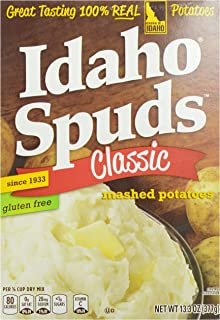 product image for Idaho Spuds Mashed Potatoes, 13.3 oz