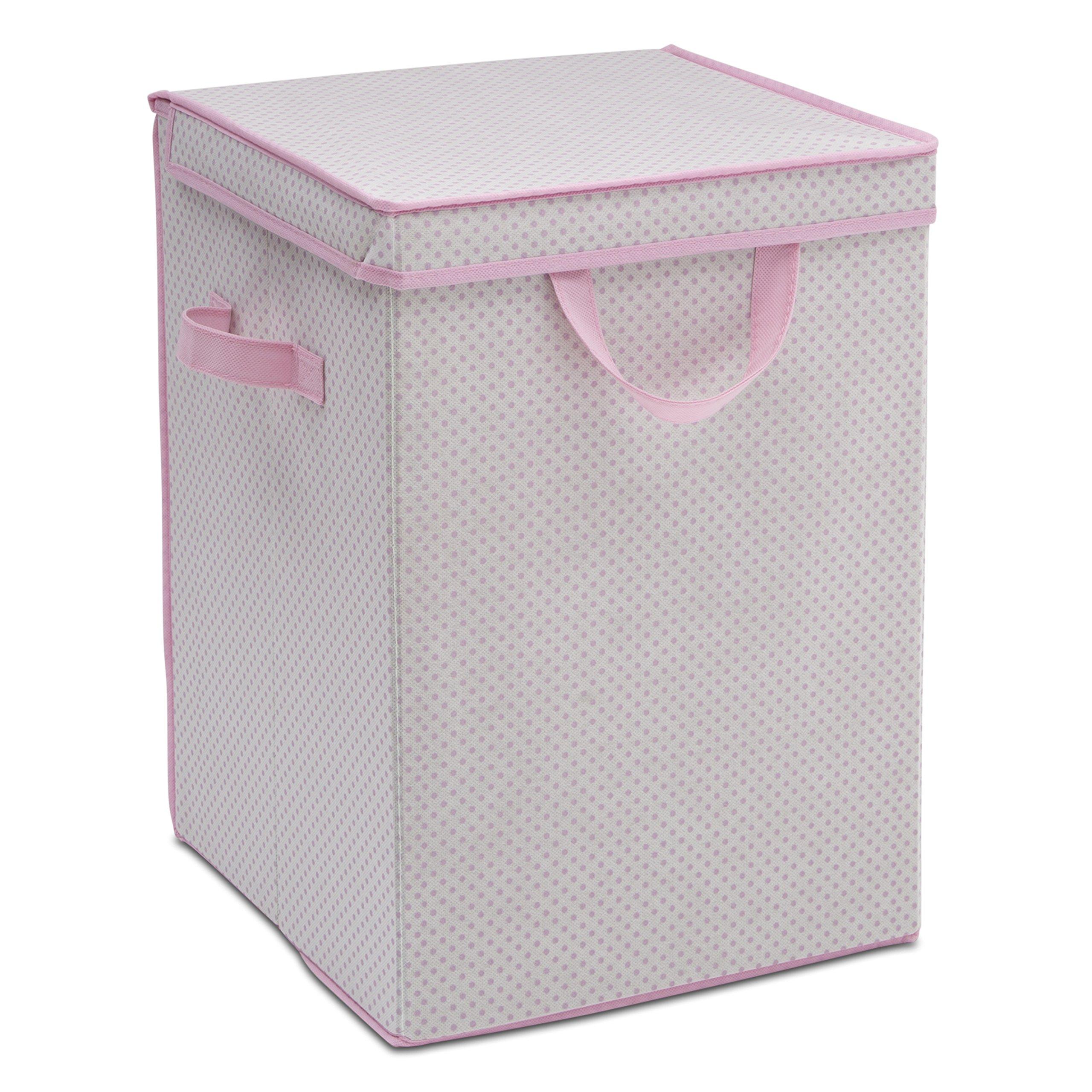 Delta Children Compact Nursery Hamper, Infinity Pink