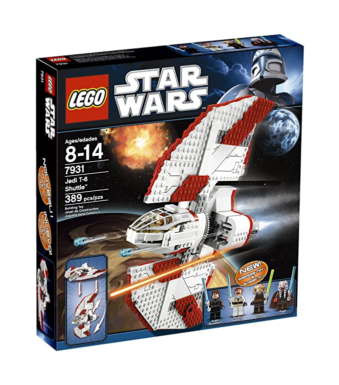 Amazon Lego Star Wars T 6 Jedi Shuttle 7931 Toys Games