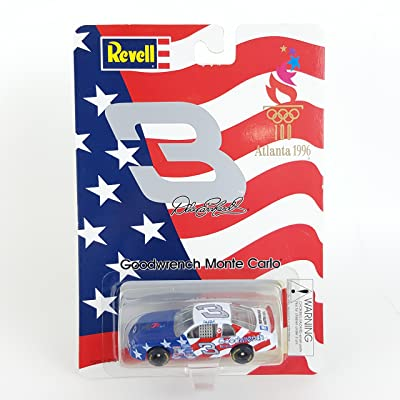 Revell NASCAR 1996 Atlanta Centennial Olympics Dale Earnhardt #3 Goodwrench Monte Carlo: Toys & Games [5Bkhe0702240]