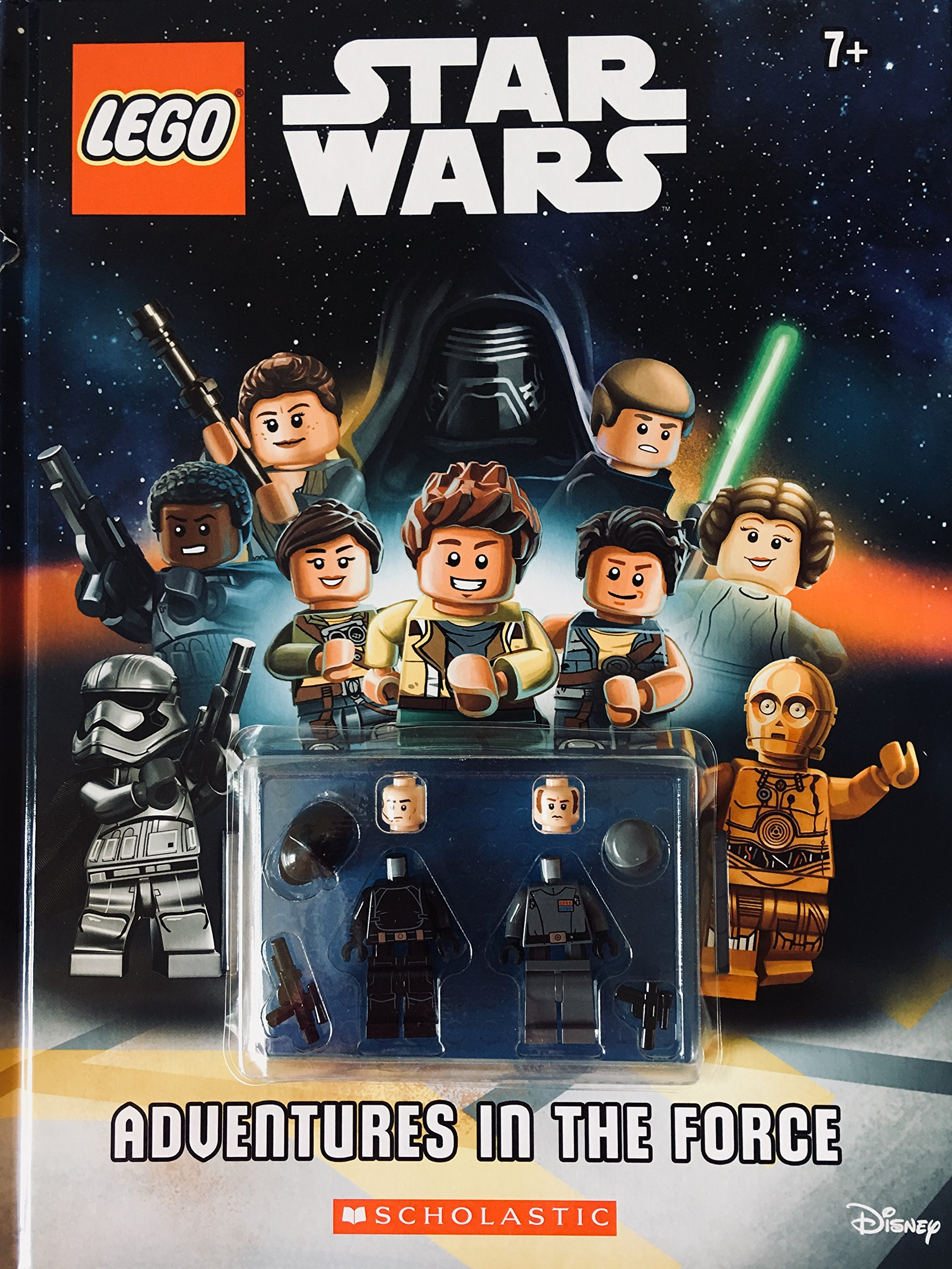 Read Online LEGO Star Wars: ADVENTURES IN THE FORCE (INCLUDES 2 MINIFIGURES) PDF